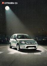 Citroen C3 Hatchback 2006-07 UK Market Sales Brochure L Desire SX Exclusive VTR