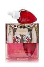 2 Bath & Body Works White Barn Tradition HOLIDAY Wallflowers Refills 2 Bulbs New