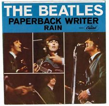 THE BEATLES - PAPERBACK WRITER 45 CAPITOL 5651 45=VG