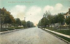 A Quiet Day On Broad Street, Looking South, Flemington, New Jersey NJ 1909