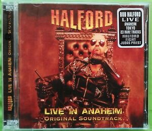 HALFORD - LIVE IN ANAHEIM 2 CD METAL GOD REC. 2010 JUDAS PRIEST FIGHT PAINKILLER