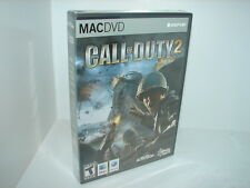 CALL OF DUTY 2  (MAC GAME)  ***NEW SEALED***