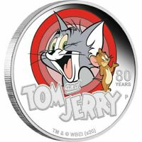 2020 Tom & Jerry 80th Anniversary 1oz Silver Proof Coin