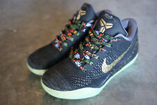 Nike Kobe IX 9 Elite Flyknit Glow In The Dark Watch The Throne Nike ID Size 9
