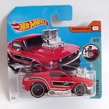 2017 Hot Wheels '68 Mustang - Tooned - Short Card - Cute Cars