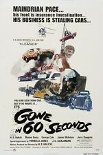 Gone In 60 Seconds movie poster (a)   : 11 x 17 inches