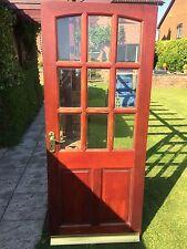 Wooden Outside Door, Back Door, External Door