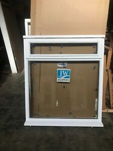 Brand New Unused Supplied Double  Glazed Timber Window 1195mmx1345mm white prime