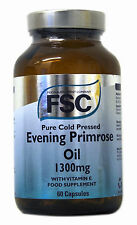 FSC Pure Cold Pressed Evening Primrose Oil 1300mg  60 Capsules