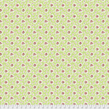 Verna Mosquera Kiss Goodbye PWVM193 Petite Bouquets Pear Cotton Fabric By Yd