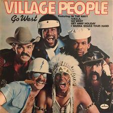 VILLAGE PEOPLE GO WEST LP MERCURY UK 1979 ORIGINAL VINYL EX+ PRO CLEANED