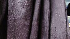 5m30 Light soft sparkle crinkle nylon taffeta fabric Purple color 1.50 width