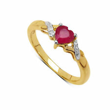 Engagement Ruby Fine Diamond Rings