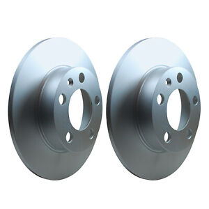 Rear Brake Discs 232mm Audi A1 A3 TT VW Golf Polo Skoda Fabia Rapid 1J0615601