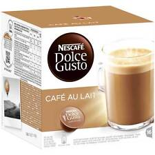 Nescafe DOLCE GUSTO: Cafe Au Lait  -Coffee Pods -16 pods-