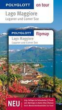 POLYGLOTT REISEFÜHRER Lago Maggiore Comer See+ LANDKARTEN wie neu, ungelesen