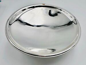 "1870s 8"" Mercury Glass Reflector For Cast Iron Wall Bracket Kerosene Oil Lamp"