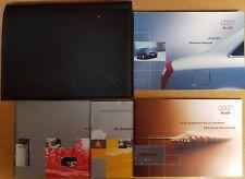 GENUINE AUDI A4 B6 HANDBOOK OWNERS MANUAL WALLET 2000-2004 PACK A-142