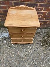 Small Pine Chest Of Drawers Pine Bedside Cabinet