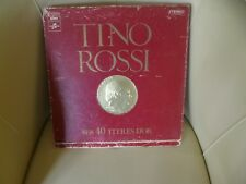 DISQUE 33 T TINO ROSSI SES 40 TITRES D'OR