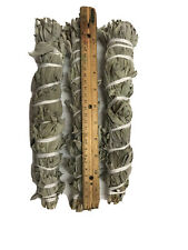 """12""""-13"""" Long Wild California White Sage Smudge Stick Pack of 3 Free Shipping"""