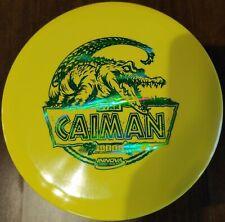 New Yellow Innova Star Caiman Green Holo-foil Stamp 175 grams.