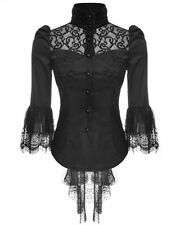 Collared Blouses for Women Gothic