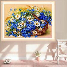 DIY 5D Diamond Embroidery Painting Daisy Flower Cross Stitch Home Decor Crafts