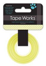 Tape Works Washi Tape - Lime Polka Dot