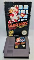 Super Mario Bros. Video Game for Nintendo NES PAL TESTED BOXED