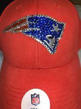 Womens Bling Patriots Nfl Hat