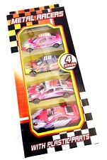 4pcs Metal Racer Kids Cars Gift Set  Racing Vehicle Children Play Toy