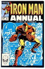 1)IRON MAN ANNUAL #6(11/83)GILLIS McDONNELL(ETERNALS/IKARIS/AJAK)CGC IT(9.0/9.2)