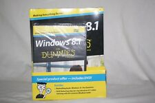 NEW Windows 8.1 for Dummies Book with Instruction DVD Sealed (A38)