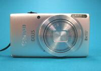 Canon IXUS132 Silber  16MP  8xZoom  +Zubehörpaket  32GB-SD-Karte  Hardcase  =1
