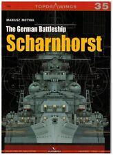 The German Battleship Scharnhorst - TopDrawings, KAGERO
