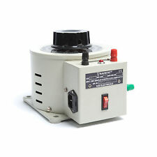 Enclosed Variable Autotransformer (Variac) for Bench Mounting 1ph 6A
