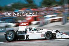 Lella Lombardi March 751 French Grand Prix 1975 Photograph