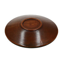 Home Salad Plate Kitchen Tray Wooden Tableware Fashion Snack Wood Saucer LP