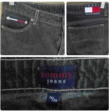 "Women's vintage Tommy Hilfiger Jeans 10"" Rise Size 15/28 Black"