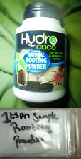 Sample 1tspn Rooting Powder Hydro Coco grow hormone plants cutting house move uk
