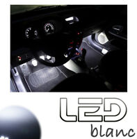 GOLF 6 2 Ampoules LED Blanc éclairage Sol Pieds Tapis  White light Footwell