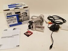 JVC GR-D370U Mini DV Digital Video Camera Camcorder Bundle w/ Charger AV Cable