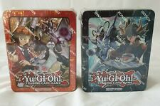2x Yu-Gi-Oh TCG 2018 Mega-Tin: Jaden & Yusei - Neu & Ovp - Yugioh /DE