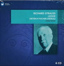 Richard Strauss Lieder Dietrich Fischer-Dieskau Gerald Moore CD box NEW