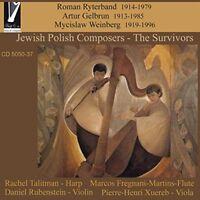 Rachel Talitman - Jewish Polish Composers  - The Survivors [CD]