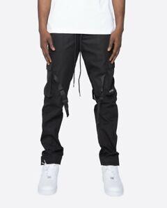 EPTM BLACK STRAP CARGO PANTS