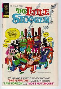 The Little Stooges #7 - March 1974 Gold Key - Three Stooges sons - VFn/NM (9.0)