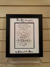 Charlie Mackesy book extract framed. The boy, the mole,the fox and the horse 26