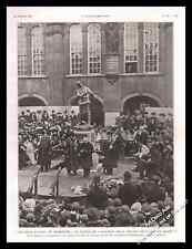 1911 Monmouth (UK) Inauguration Statue of the aviator ROLLS Lord Llangattock